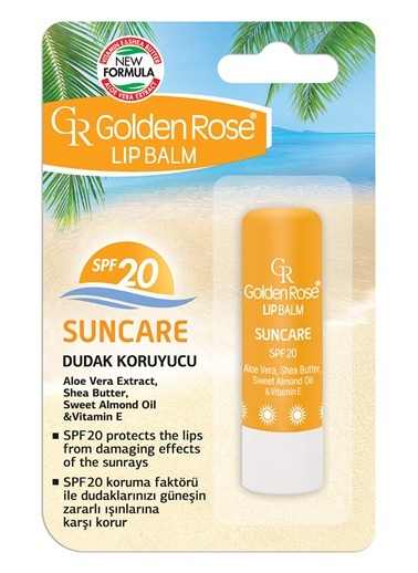 Gr.Lıp Balm Suncare Spf 20 No:06-Golden Rose